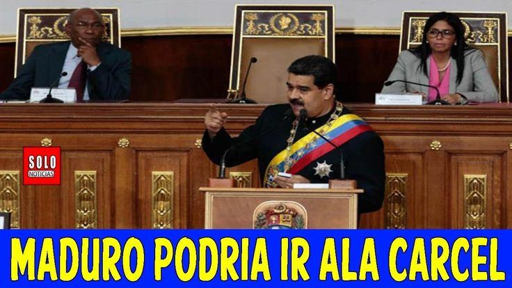 Ultimas Noticias VENEZUELA, MADURO Y SU REGIMEN PODRIAN IR ALA CARCEL, 0...
