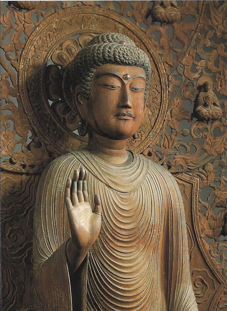 奈良 勝宝山西大寺本堂 釈迦如来立像