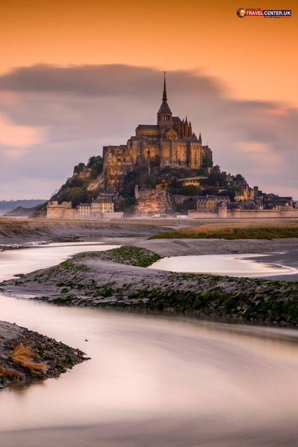 The Stunning Mont Saint Michel Booking Flights Travel Center Cheap Flights