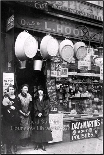 L. Hooper's Domestic and Incandescent Store ~ London Borough of Hounslow (early 1900's to late 1930's)