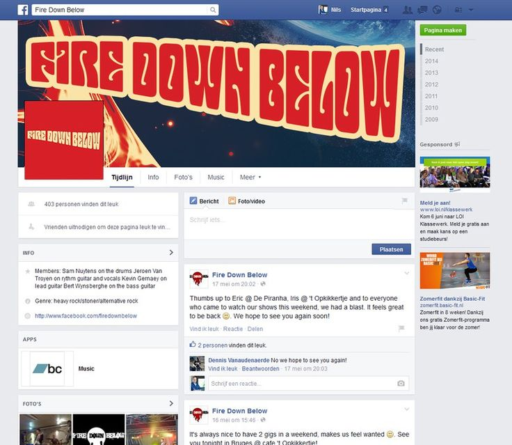Create a cool Facebook Banner for a Stoner/Heavy Rock band by Huzen Design