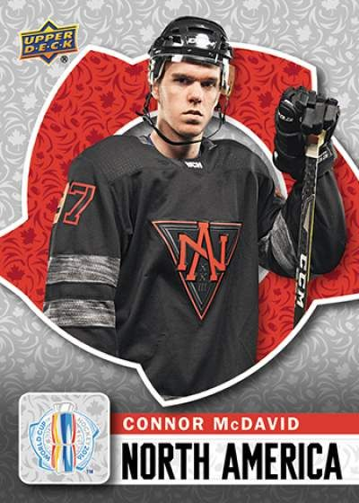 World Cup of Hockey Connor McDavid Base Team North America