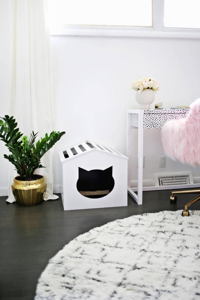 100 diy projects to upgrade your home diy litter box cover bookcase climber litter box