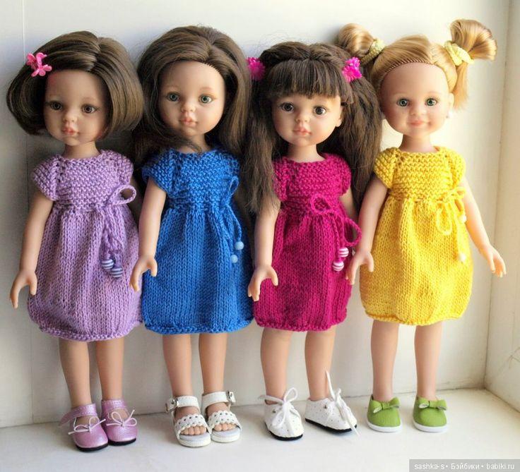 Всем доброго дня! В честь первого дня зимы, дарю вам свой авторский Мастер-класс по платью для куклы Паола Рейна Вам