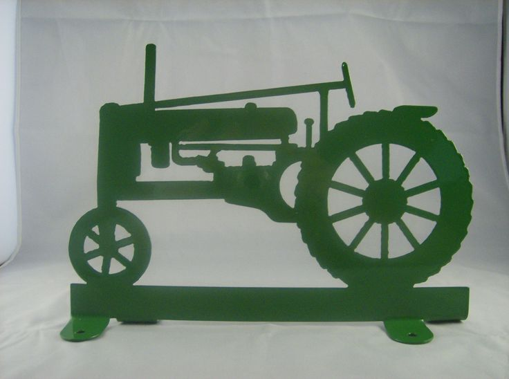 Metal Tractor Pin : John deere tractor silhouette google search