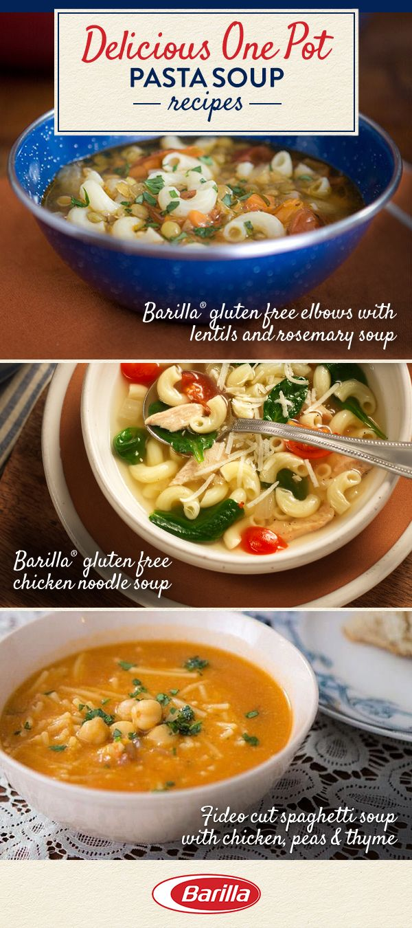 Impress at the dinner table while saving on money, time and stress with these amazingly delicious make-ahead pasta soup recipes. Visit Barilla.com for the full recipes.