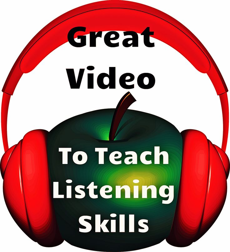 Social Skills for Learning: Great video to teach good listening!