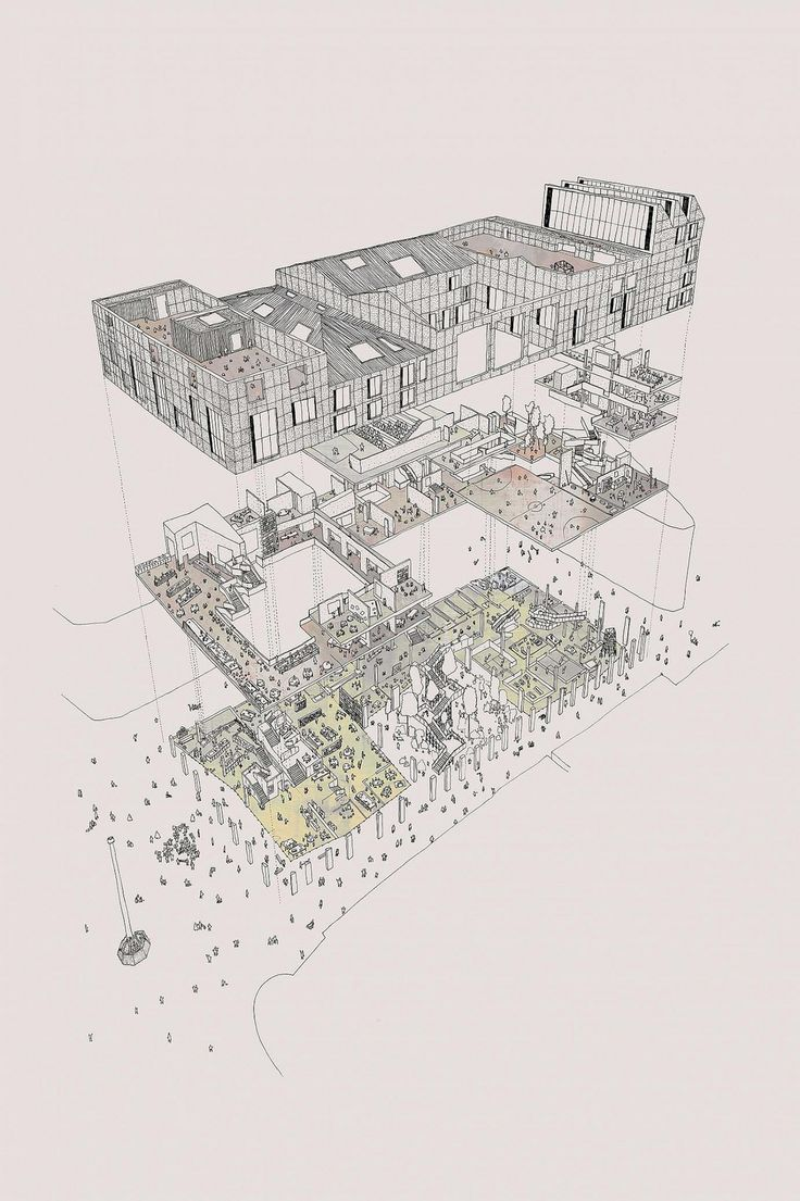 1000 Images About Architectural Drawing On Pinterest