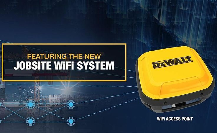 bricoleur_design_jaxDeWalt just announced a WiFi mesh network with its own 'rugged' router that is part of a new age of jobsite connectivity. This will link large jobsites, commercial or residential, into one thorough mesh network.