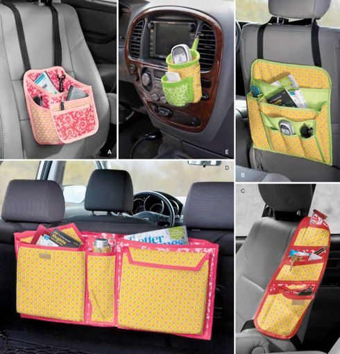 CAR ORGANIZER Sewing Pattern  OFFICE on the Go by patterns4you