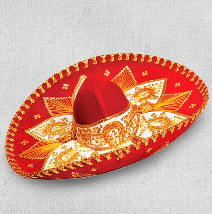 Chapéu Sombreiro original do México. Você pode levar para sua casa um pedacinho do méxico e do Guacamole. sombreiro. chapéu. méxico. decoração. cultura mexicana. guacamole