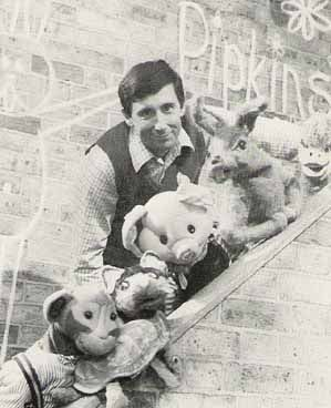 Pipkins used to scare me - ratty old Hartley Hare...