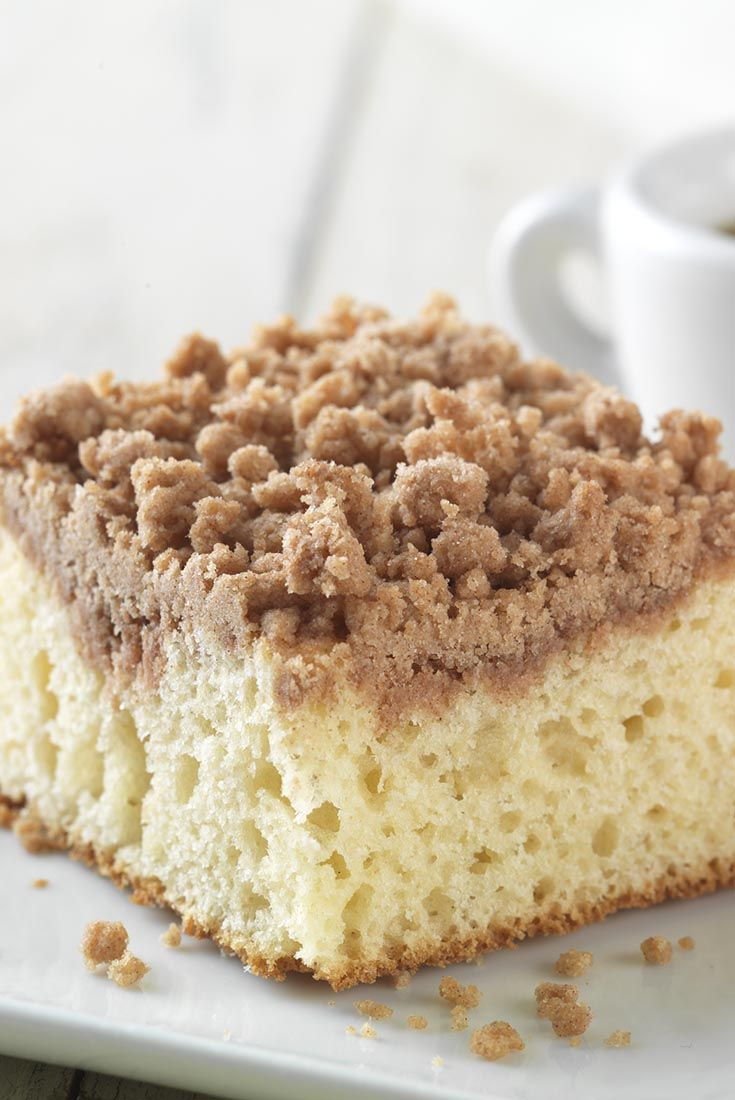 Gluten Free Cinnamon-Streusel Coffeecake made with baking mix Recipe
