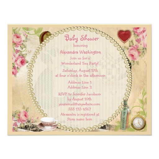 Online Tea Party Invitations is good invitations template