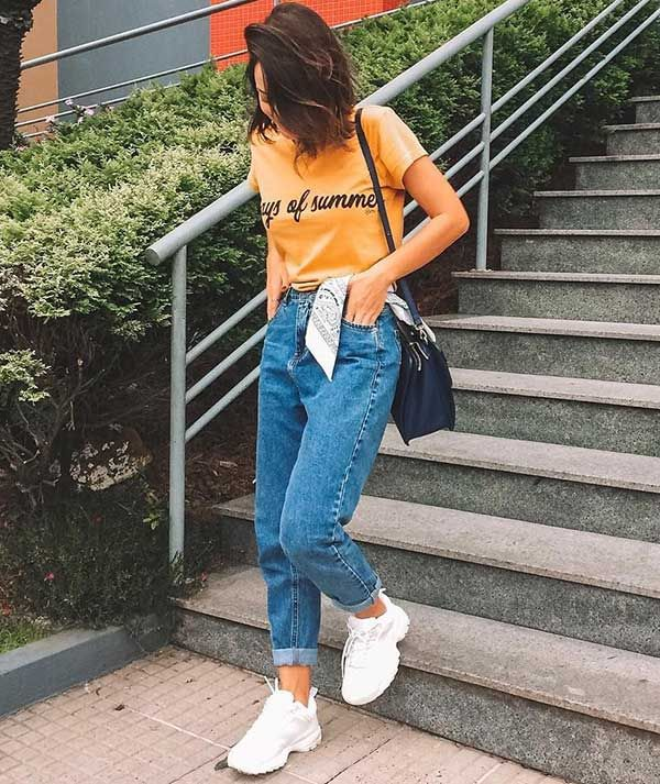 Chunky Sneakers Outfit