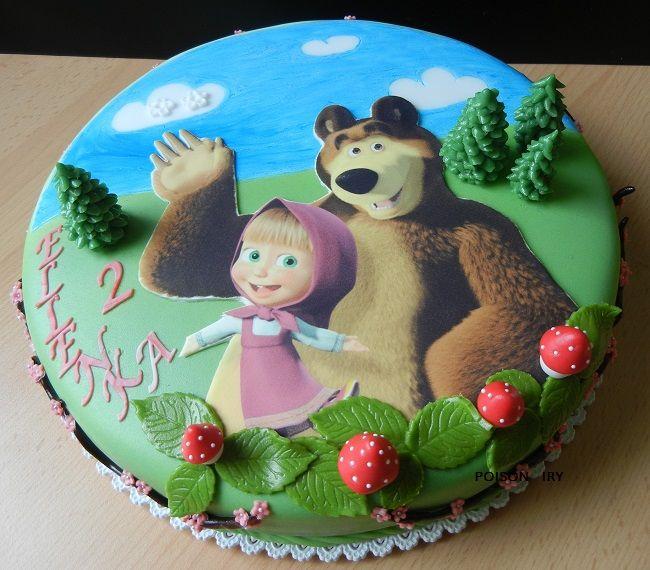 Máša a medvěd , Pohádkové a filmové... dorty | Dorty od mamy