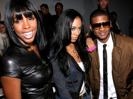 #1645 Kelly Rowland, Solange Knowles & Usher