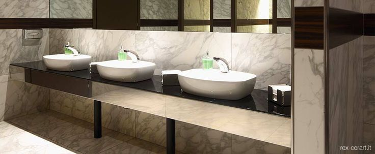 The Sheraton Hotel Malpensa has been realized with the elegant Rex tile collections inspired by wood Le Essenze and the marble-like I Bianchi: the perfect combination to the premises to give a touch of luxury. The hotel is a winner of the TripAdvisor Certificate of Excellence 2011.