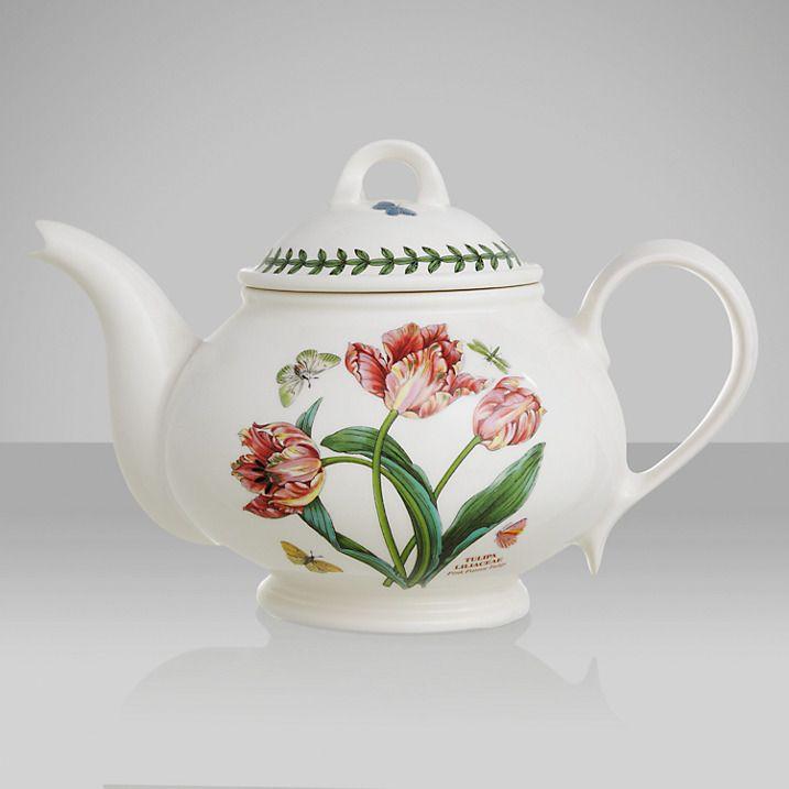 Portmeirion Botanic Garden Tulip Teapot