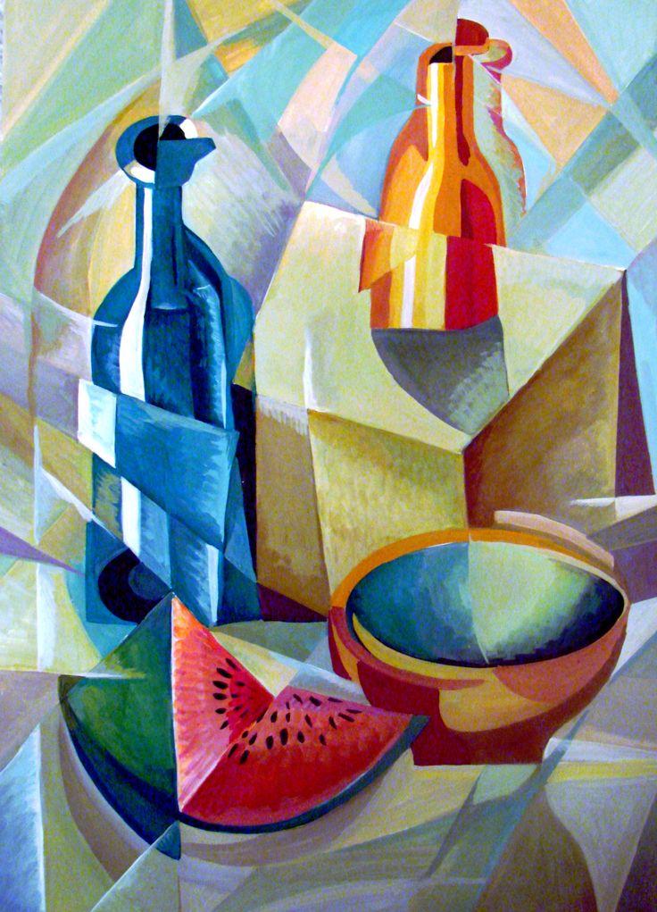 гуашь натюрморт - Поиск в Google   Декоративная живопись ...