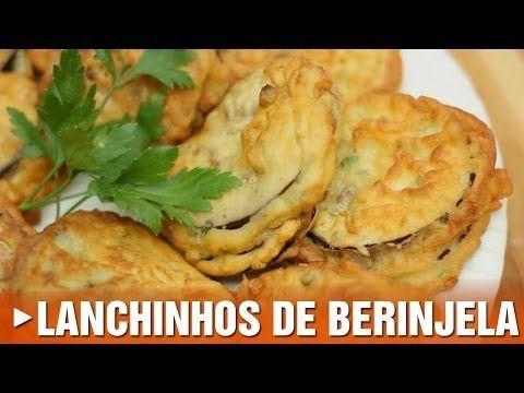 BOLINHO DE ABOBRINHA - Receita de bolinhos de abobrinha (Episódio #64) - YouTube