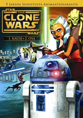 Star Wars: The Clone Wars: Kausi 1 Volume 2 (DVD)