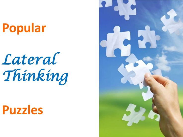 PopularLateralThinkingPuzzles