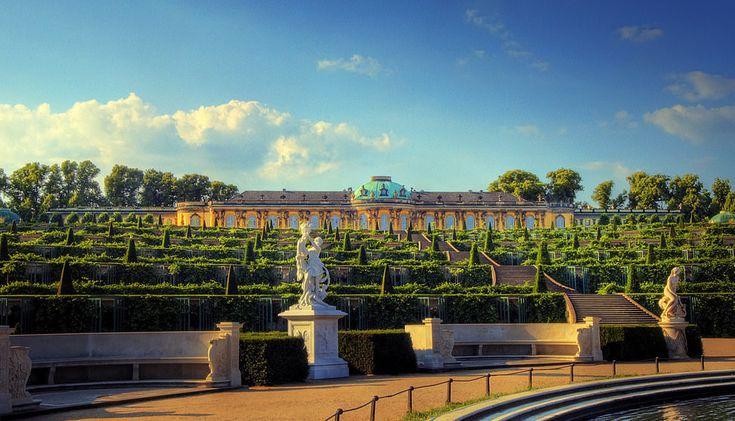 Sanssouci Palace Gardens, Potsdam, Germany  18 Of The World's Most Beautiful Gardens – BoredBug