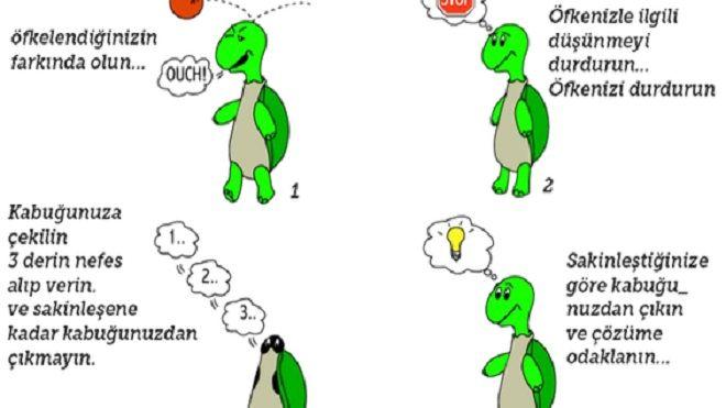 Kaplumbağa Yöntemiyle Öfke Kontrolü…