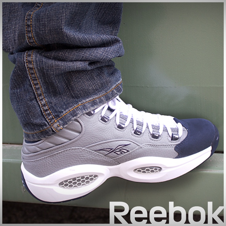 ... Allen Iverson first signature shoe Reebok QUESTION MID is now available  in-store ... 8d1f3f8d63cb