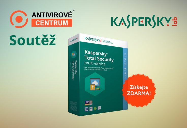 Velká šance vyhrát antivirové řešení Kaspersky Total Security 2017 Multi-Device: https://www.antivirovecentrum.cz/aktuality/kaspersky-total-security-2017-zdarma.aspx