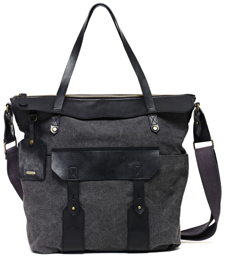 Philips Tote, Charcoal tote perfect for work & travel