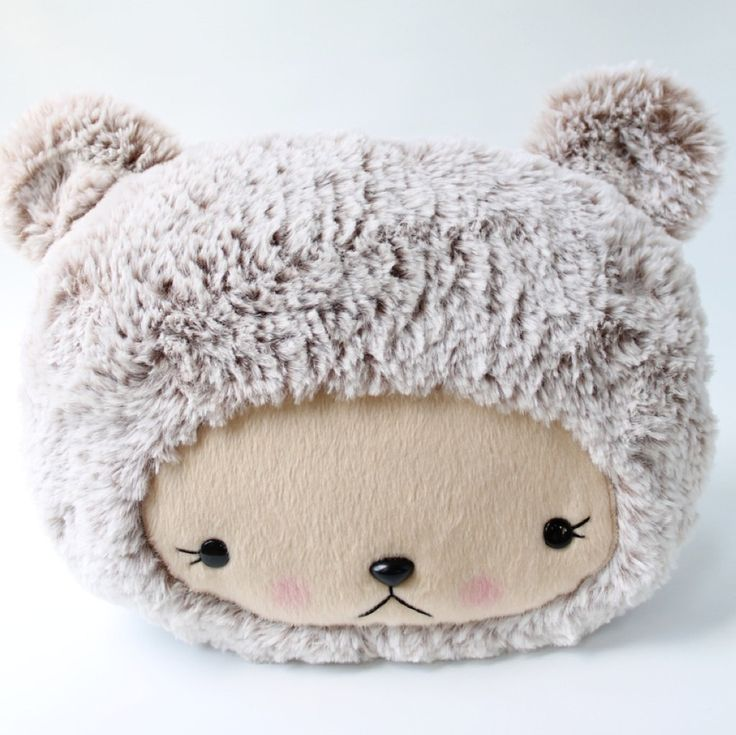 RESERVED for Christine Plush Kawaii Teddy Bear by bijoukitty