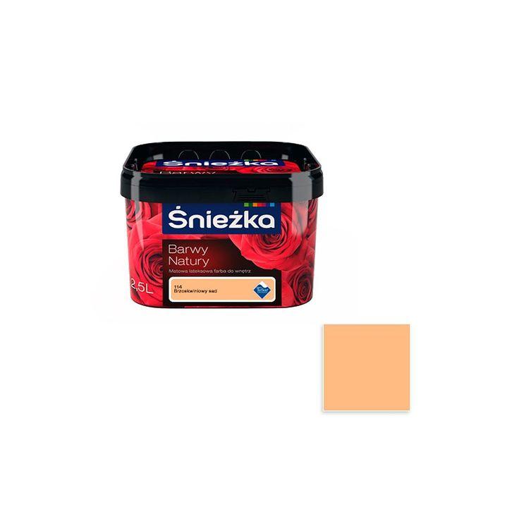 Farba Barwy Natury Brzoskwiniowy Sad 2,5L