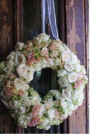 Lovely Rose Wreath