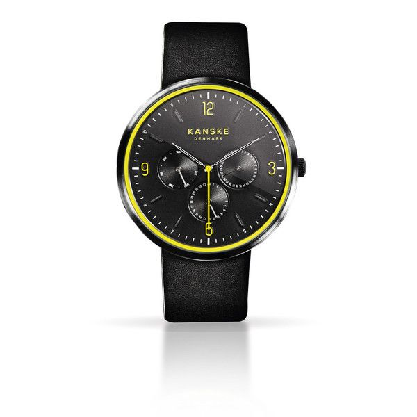 KANSKE BLACK SUPREME 201 - Pre-order now at http://kanskedenmark.com/products/kanske-watch-black-neon