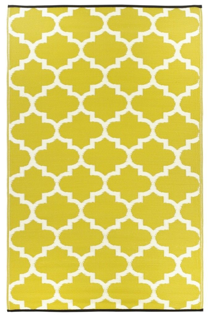 Fab Habitat Indoor Outdoor Rug Made From Recycled Plastic