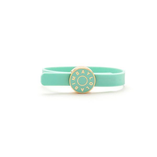 Rubber logo bracelet
