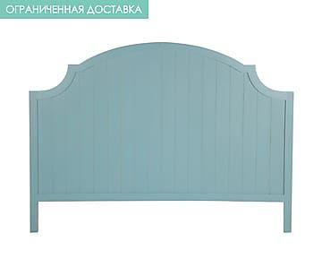 Изголовье кровати - дерево - голубой - Ш160