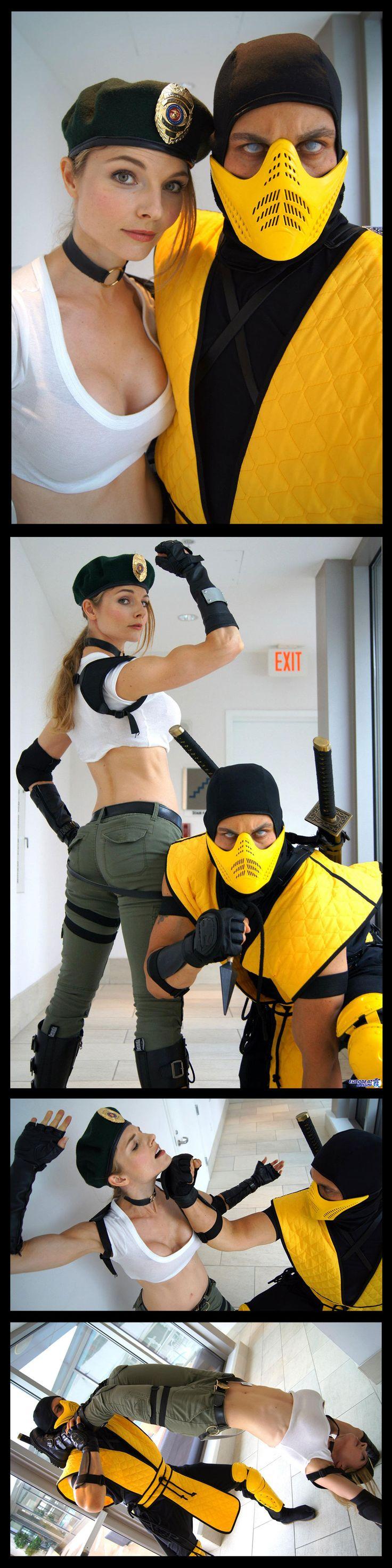 Dan Deanna Krahn-Sarkar Mortal Combat Cosplay http://danquish.deviantart.com/gallery/