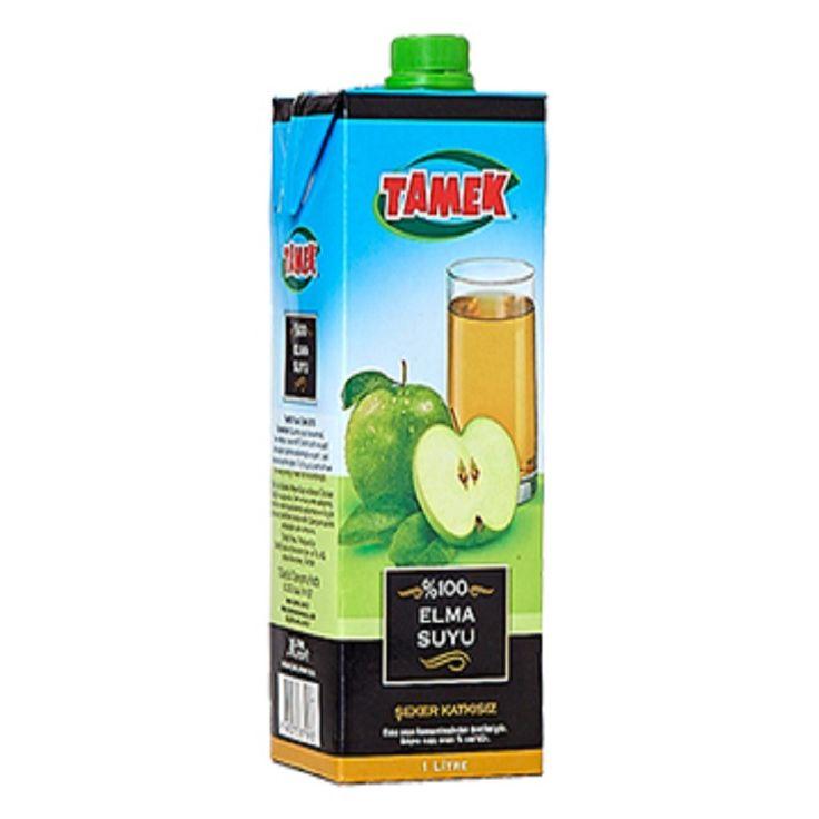 Tamek 1lt Elma Suyu - Apple Juice