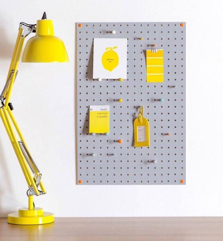 Monikäyttöinen muistitaulu joka sopii huoneeseen kuin huoneeseen  BLOCK® Interiortodayfi, säilytys, makuuhuone, eteinen, olohuone, koti, toimisto, ilmoitustaulu