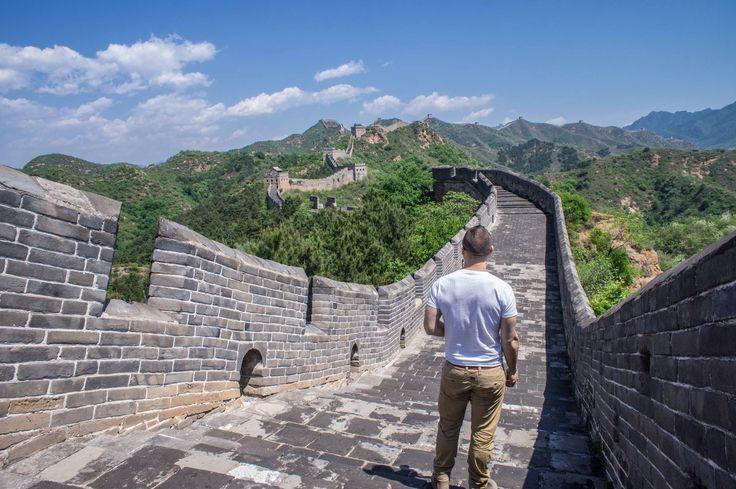 Hiken over de Chinese Muur #China