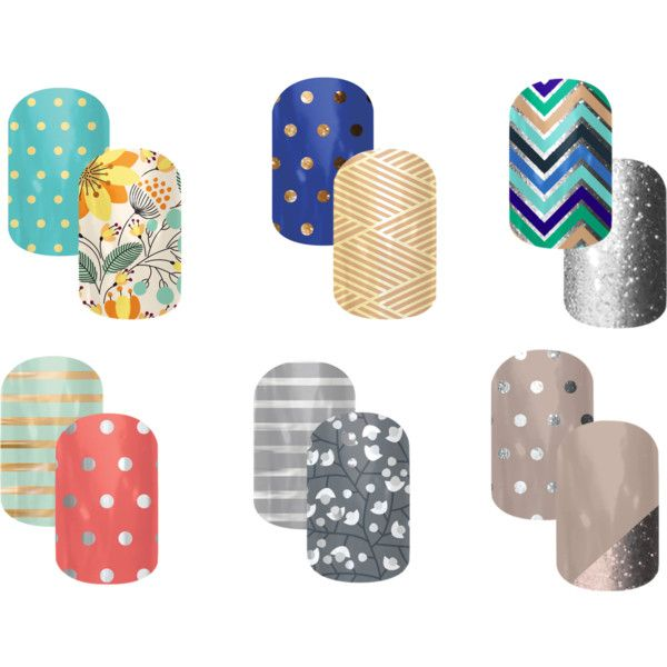 """Jamberry Combos"" by jaxx2307 on Polyvore Visit http://jaynine.jamberrynails.net to order now!"