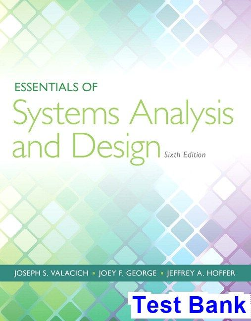 50 best test bank images on pinterest essentials of systems analysis and design 6th edition valacich test bank test bank solutions fandeluxe Images