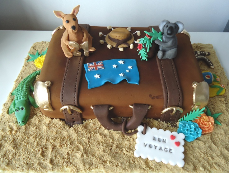This is my cake - yes I made it - Aussie style!! :o)