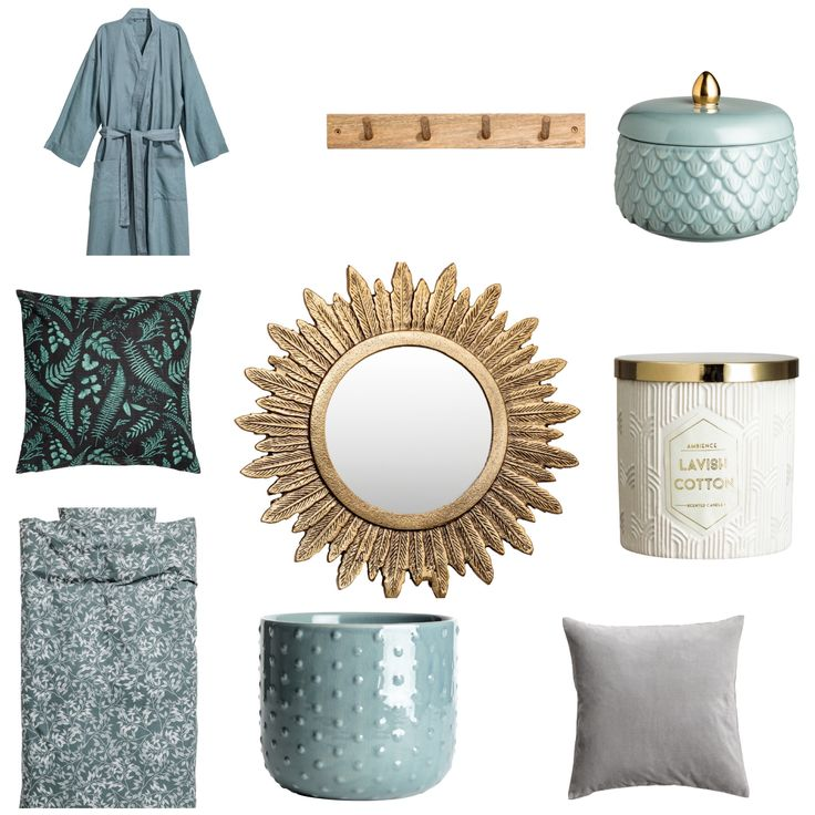 H&M home bedroom inspo