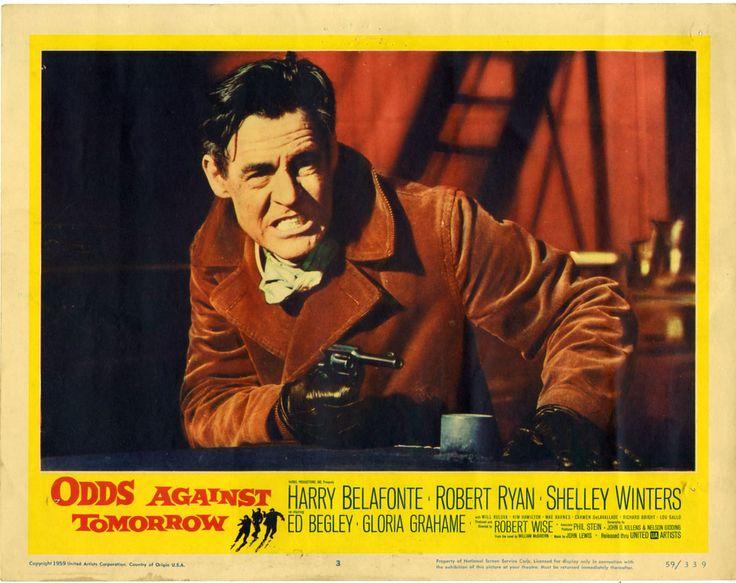 *d   Robert Ryan / 'Odds Against Tomorrow',1959