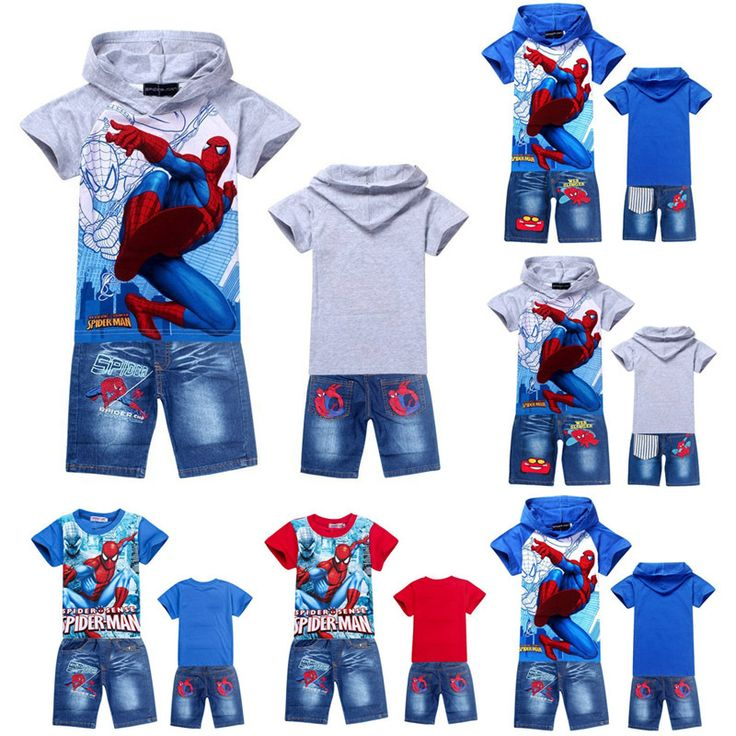 Boy's Clothing Sets with Spiderman and Other Cartoons //Price: $15.21 & FREE Shipping Worldwide //   https://gookiddy.com/boys-clothing-sets-with-spiderman-and-other-cartoons/  https://www.gookiddy.com  #kids_brand #kids_fashion_city