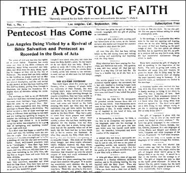pentecostal movement in america